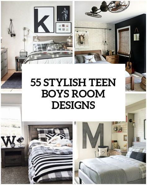 55 modern and stylish teen boys 39 room designs ideas for kellen 39 s room pinterest zimmer f r. Black Bedroom Furniture Sets. Home Design Ideas