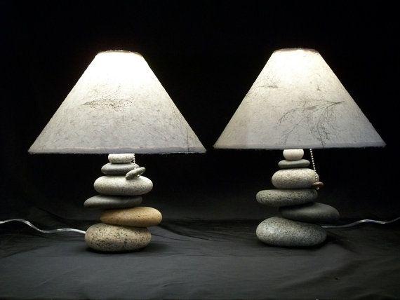 25 best bedside lamp ideas on pinterest bedroom lamps for Rock lamp