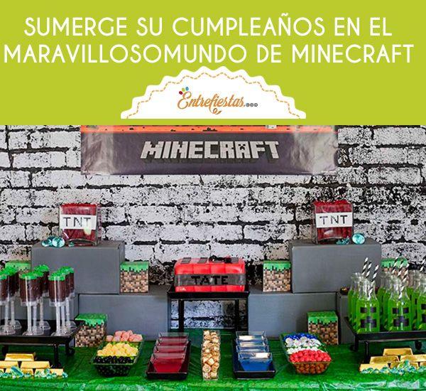 Un cumpleaños resulta una aventura sin igual, el interés de divertirse y pasarla genial siempre estarán presentes en el agasajado, cumple con estas expectativas y organiza un cumpleaños basado en su videojuego favorito. Sigue estos consejos y ¡sumérgelo en el maravilloso mundo de Minecraft!