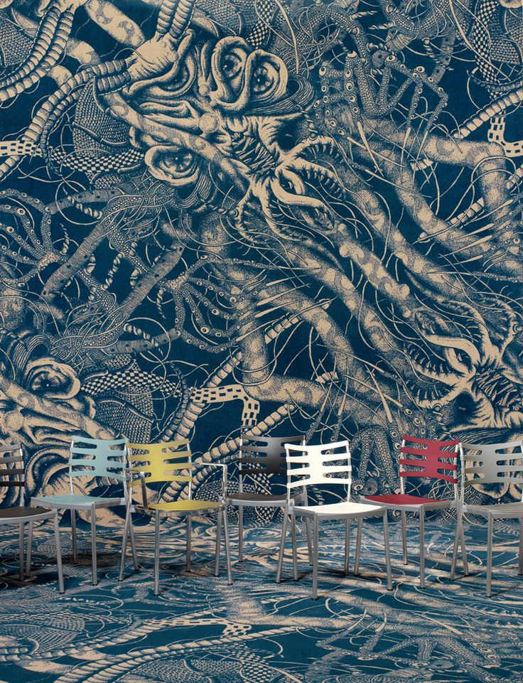 Dark Water by Kirill Rozhkov powered by ege. http://www.egecarpets.com/collections/design-spot-dark-water.aspx?PID=1869