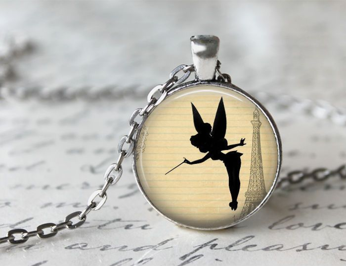 Peter Pan pendants necklace jewellery gift chain from Madame Butterfly JEWELLERY by DaWanda.com