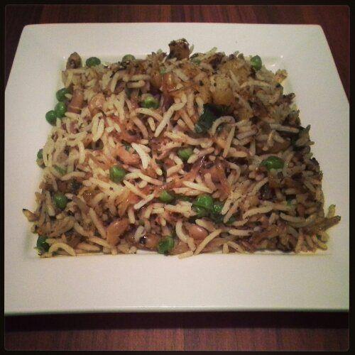 Potato Black-Eyed Bean Rice