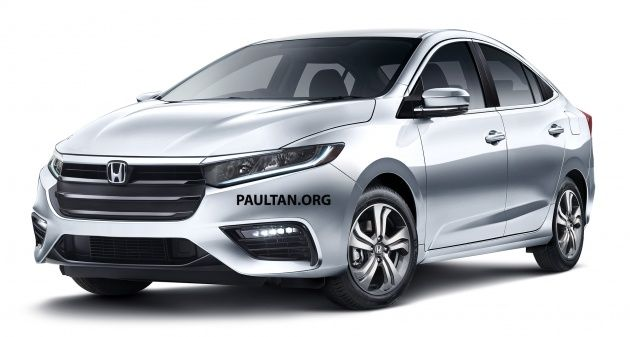 Next Generation Honda City To Officially Debut In Thailand On November 25 Turbo Engine Confirmed