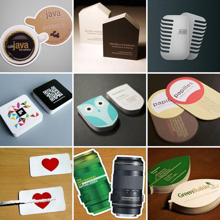 Idéias Criativas e Inspiradoras para seu próximo cartão de visita!