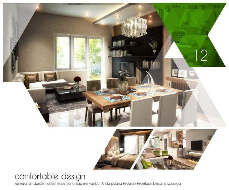 Interior Design Rumah Falco Orchard Park Batam