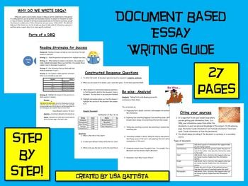1996 dbq essay In the simplest terms, a dbq is an essay question based on a series of documents its use in a social studies class allows teachers to utilize a variety of primary.