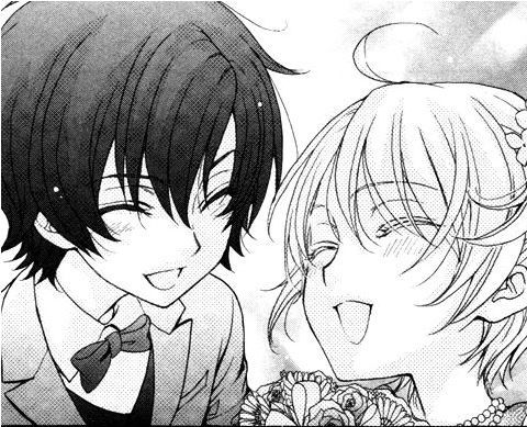 Love Stage!! manga ~ little Izumi x Ryouma, you precious little angels ^-^