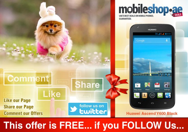 This ITEM is Free If You FOLLOW Us On TWITTER...  Twiiter- @mobileshopdotae Link- https://twitter.com/?lang=en