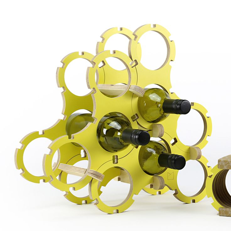 POWER TO MAKE – This interlocking wine rack is a fun and innovative product that can be extended with additional sets (including a champagne insert) to grow with your wine collection!  www.powertomake.com.au (Sydney and Melbourne). THE BIG DESIGN MARKET Sydney: 25–27 Nov, Royal Hall of Industries Melbourne: 2–4 Dec, Royal Exhibition Building $2 entry/kids free www.thebigdesignmarket.com