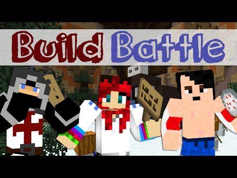 Minepolis - Build Battle ! -  w/ Walrusz, IceBlueBird