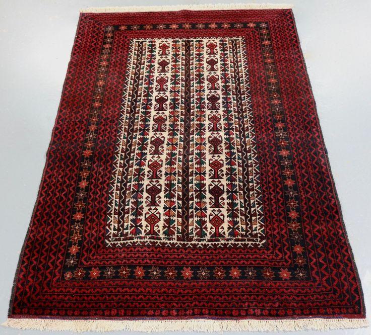 Turkmen Baluchi Tribal Rug (Ref 1999) 177x115cm - PersianRugs.com.au