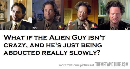 If it is not being abducted his hair might be.