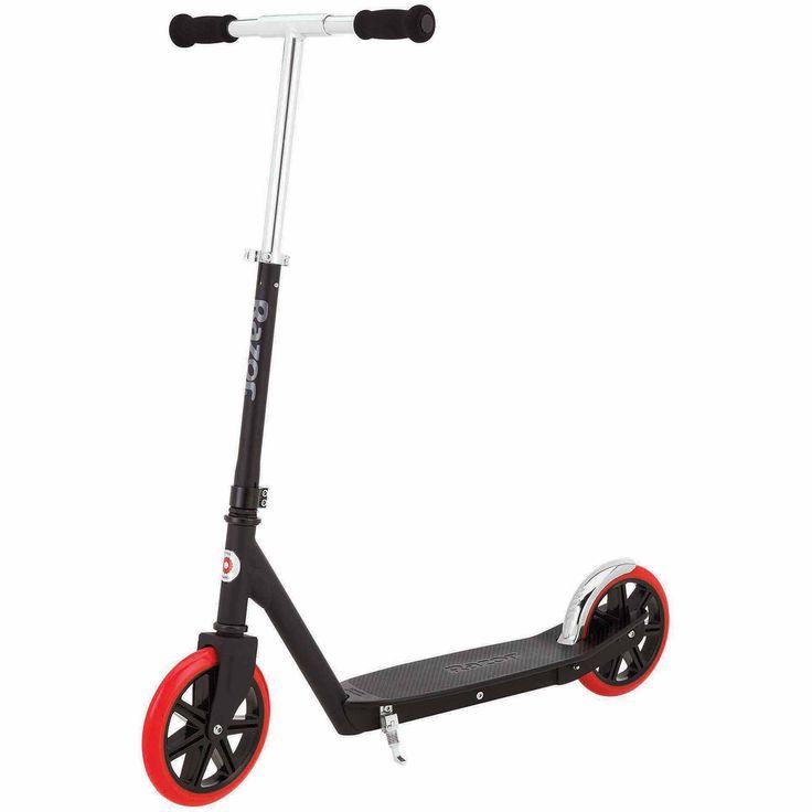 Razor Carbon Lux Scooter, Black - Walmart.com