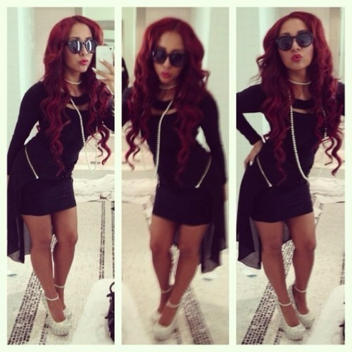 Loving snookis red locks :) Wish i had the guts to do it.