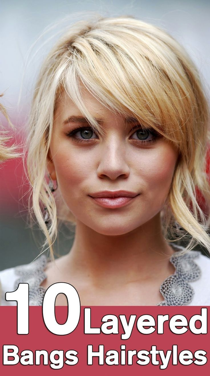 Hairstyles Right Now : 10 Layered Bangs Hairstyles You Can Flaunt Right Now