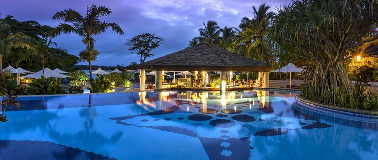 Warwick Le Lagon Resort & Spa - Port Vila #warwickhotels #pool #vanuatu