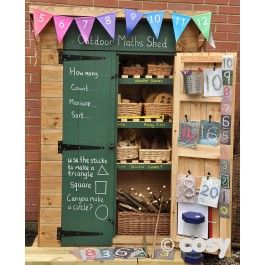 MATHS - OUTDOOR COUNTING SHED
