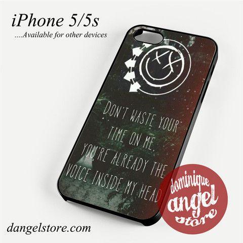 Blink 182 Lyrics 2 Phone case for iPhone 4/4s/5/5c/5s/6/6 plus
