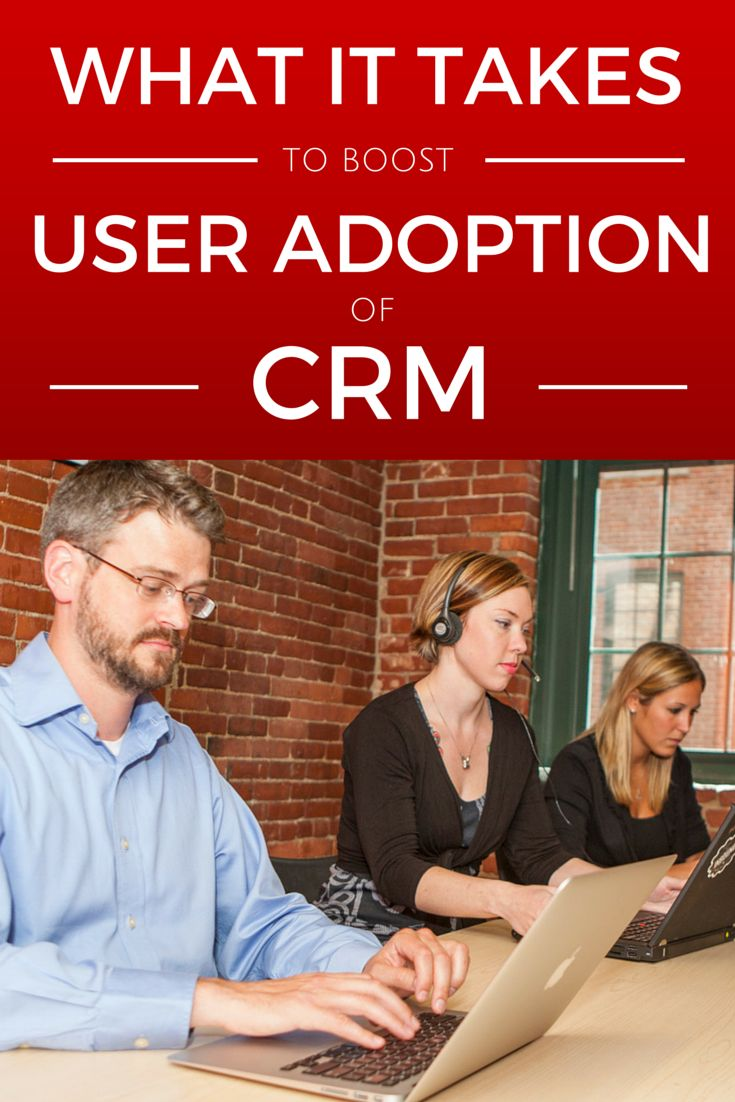 It can be difficult to predict how users will respond to new software or a redesigned application but there are ways you can improve the chances of user adoption of your Customer Relationship Management (#CRM) project.