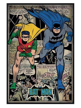 Superman Comic Book Montage, DC Comics Poster - Buy Online