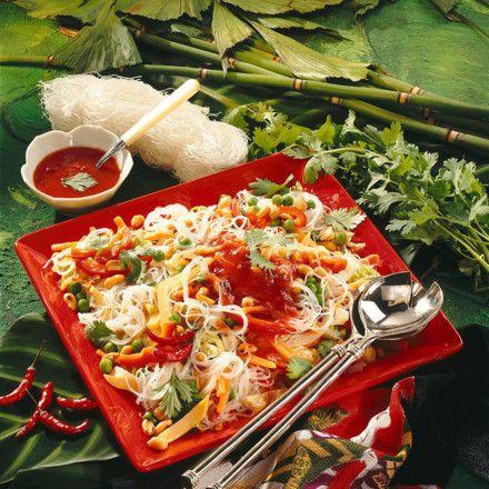Glasnudel-Salat süß-sauer Rezept