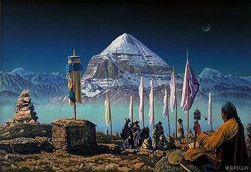 Mount Kailash.....