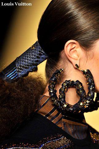 Модные серьги 2009