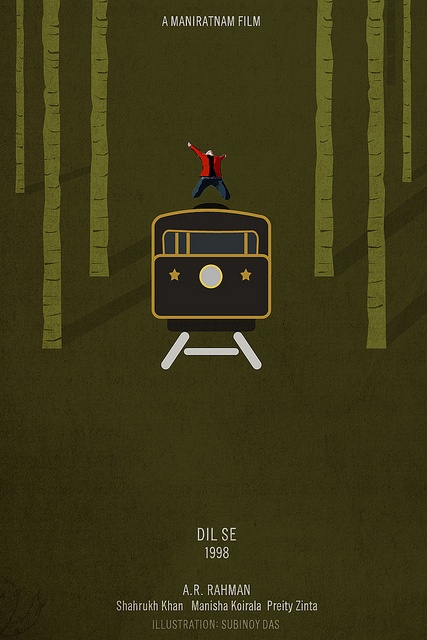 Dil se by Minimal Poster, via Flickr