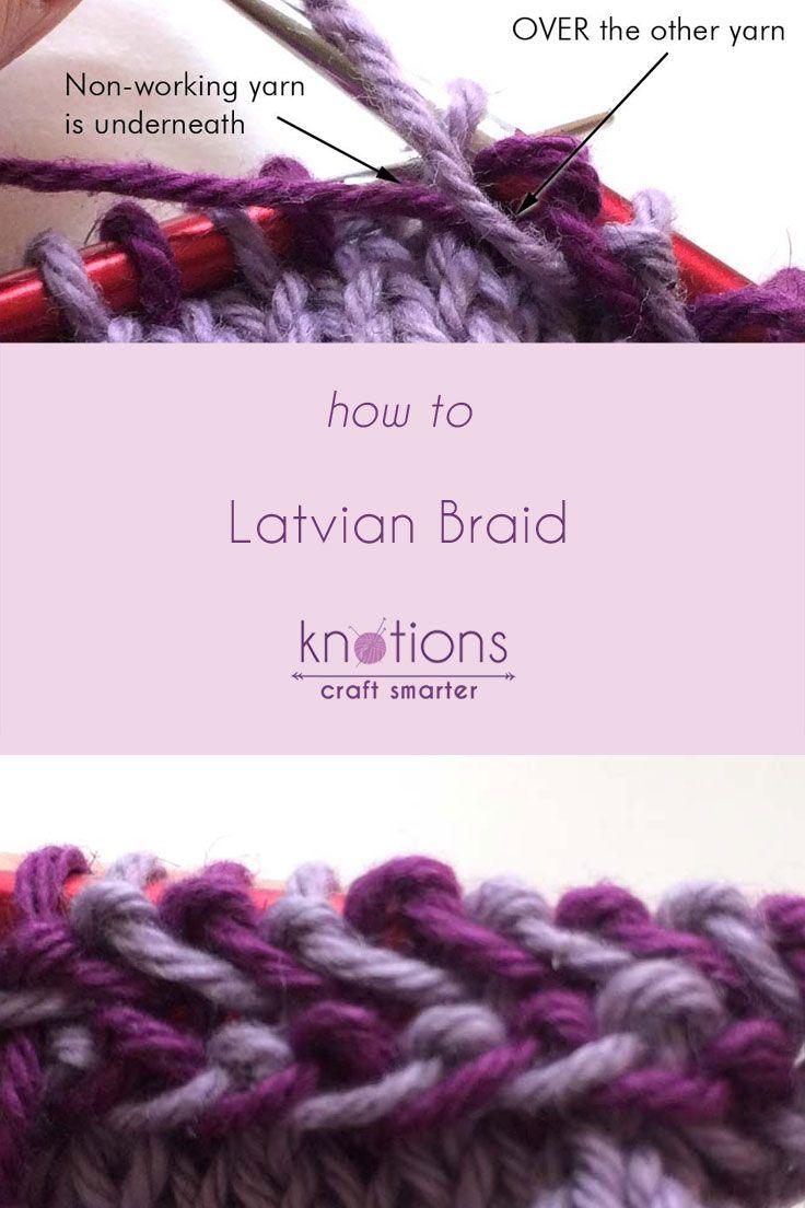 Tutorial: Latvian Braid