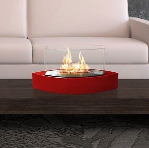 Lexington Fireplace- Red