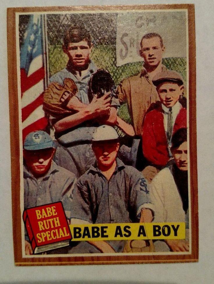 1962 topps babe ruth 135 baseball card baseball cards