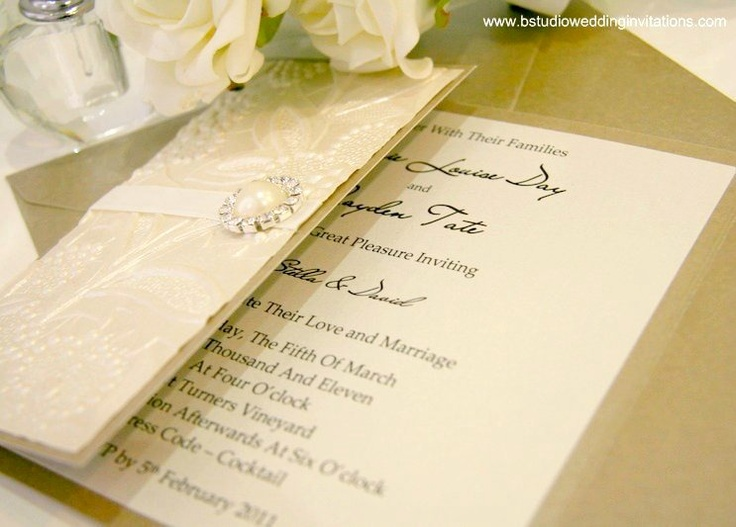 84 best Handstamped Wedding images on Pinterest Invitation