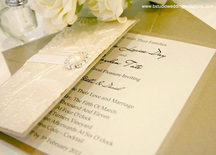 Simple Wedding Invitations Pinterest: Gallery Of Simple And Elegant Handmade Wedding Invitation