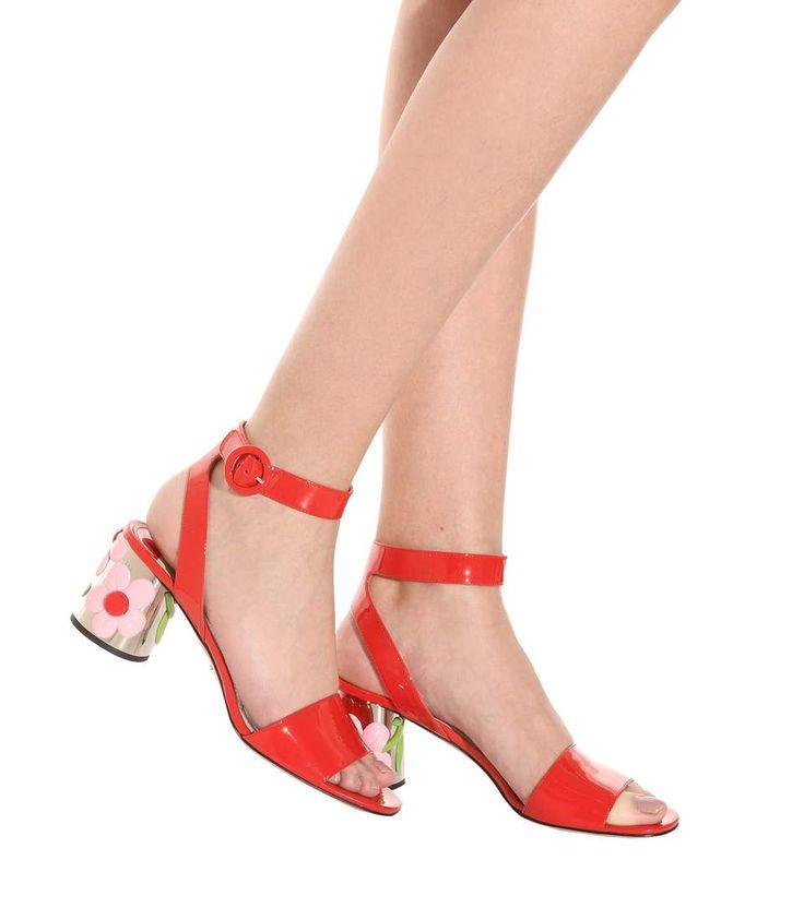 PRADA | Patent-leather-sandals (1)