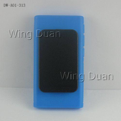 Жесткий Клип Чехол Для iPod Nano 7 ТПУ Мягкой Резины Кожного Покрова держатель Клип Для iPod Nano 7 Вт/Зажим для Ремня Чехол Для iPod Nano 7