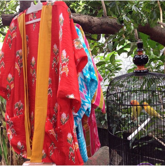 Tenun Makasar Outer Kimono for Kids