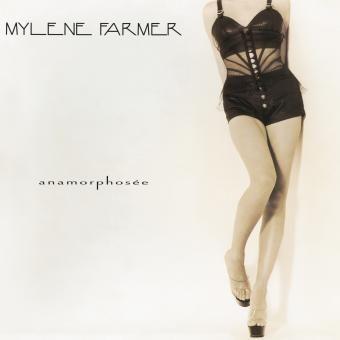 Mylene Farmer pochette album Anamorphosée