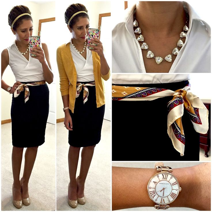 Hello, Gorgeous!: Modern Retro. Love the whole outfit, and the scarf-as-belt