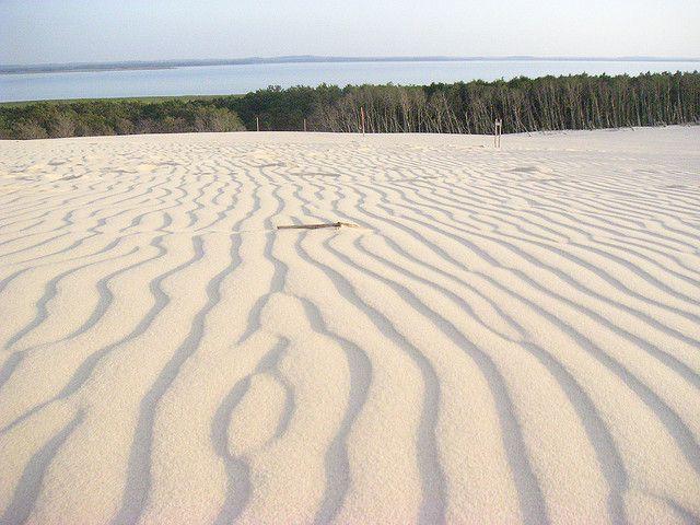 Slowinski Sand Dunes, Slowinski National Park, Baltic Sea, Poland