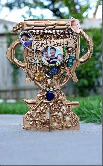 father's day trophy craft