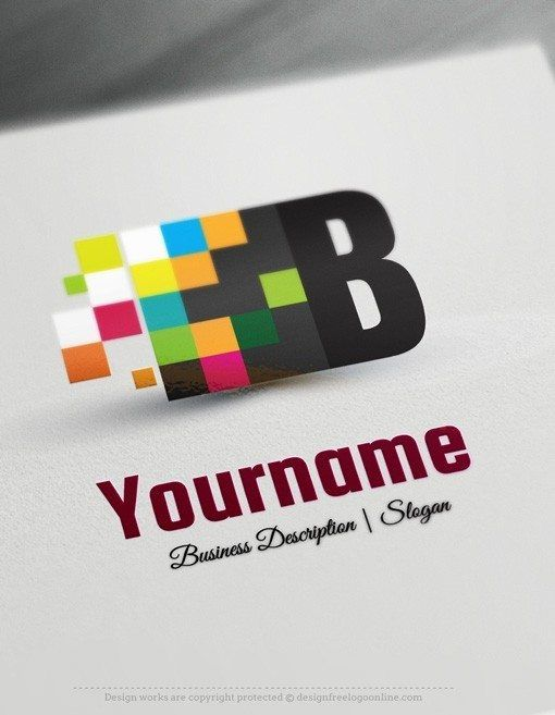Design Free Digital Art Logo Template Ready madeOnline Digital Art Logo Template decorated with an imageof a colorful cubes and your Initial / Alphabet. This professional digitallogos excellent forconsulting, management, print, graphic design, computers, web, art class etc.How to design alogo online with ourLogo generator and text creator? 1- Customize This logo with our free logo