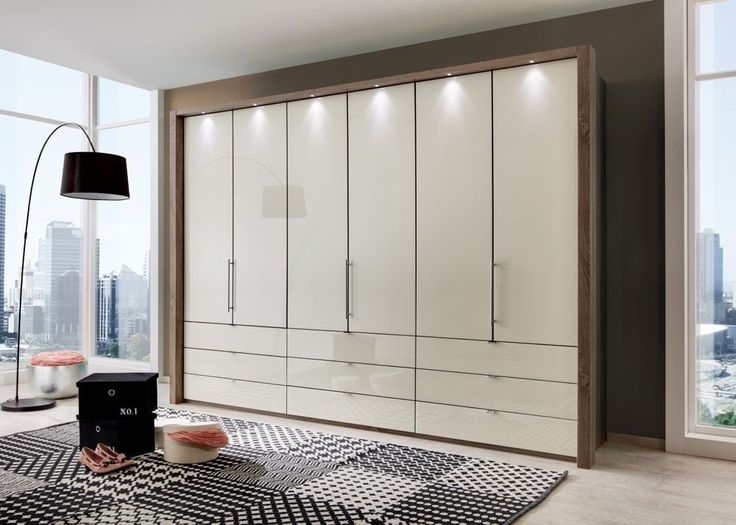 Great Kleiderschrank Loft Eiche mit Glas Magnolie Buy now at http