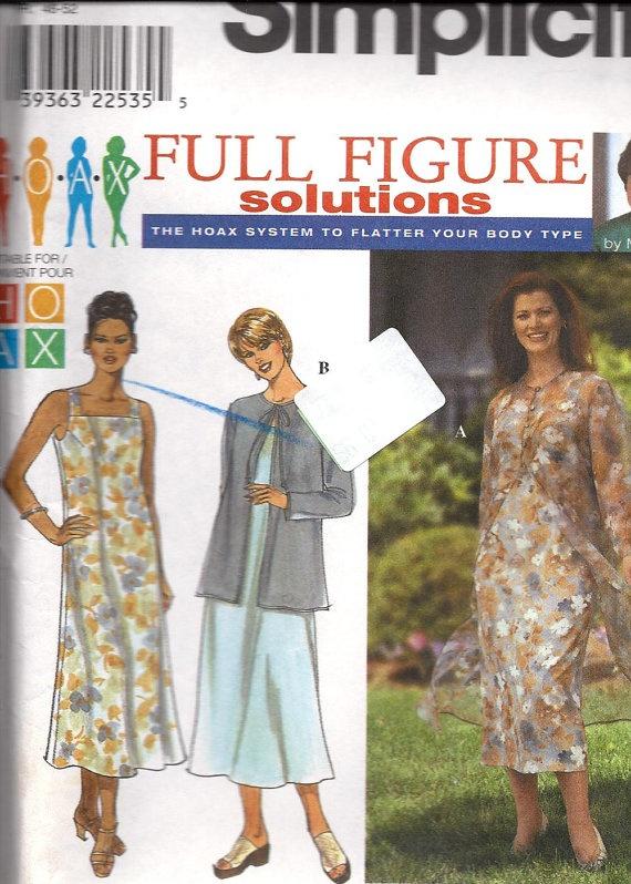 HOAX Full Figure Dress & Coat or Jacket by DawnsDesignBoutique, $8.00