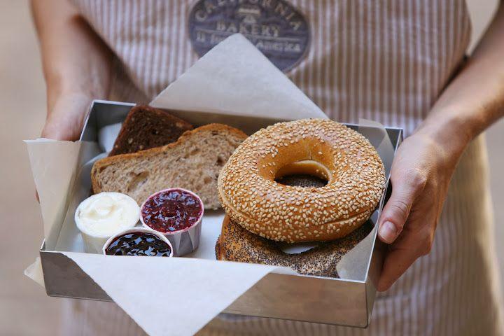 Bread Basket by California Bakery