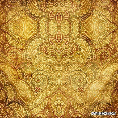 Роскошные золотые винтажные фоны и текстуры | Vintage background 2