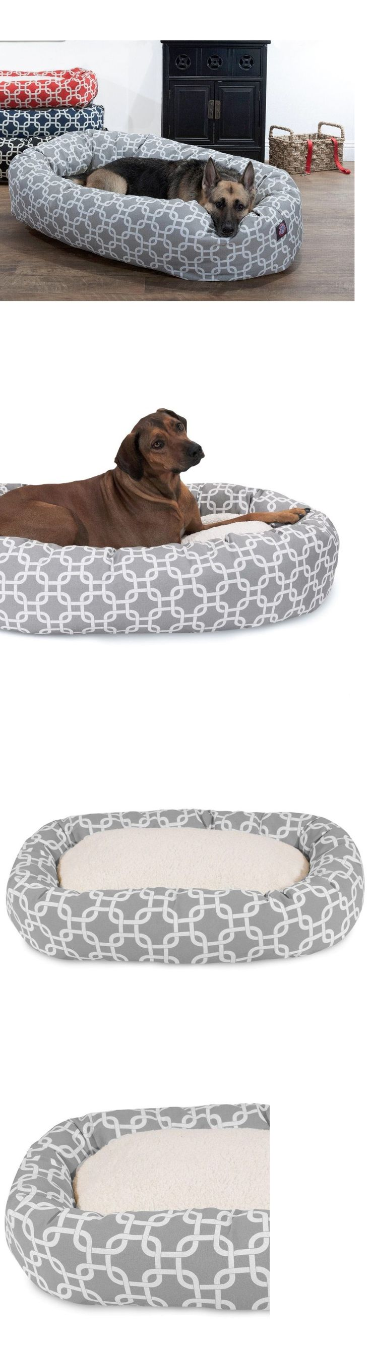 Beds 20744: Great Dane Dog Bed Extra Large Washable Xl Pet Huge Bolster Bagel Sherpa Gray -> BUY IT NOW ONLY: $124.95 on eBay!