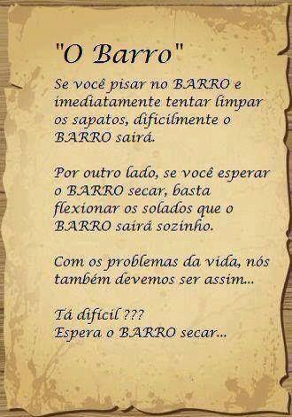 Post #FALASÉRIO! : LIÇÃO DE VIDA !