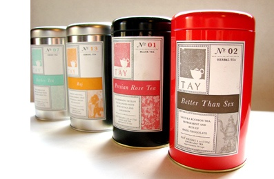 teas #packaging #design