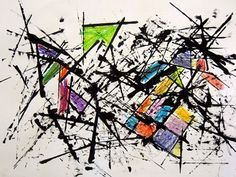 easy abstract painting ideas 12