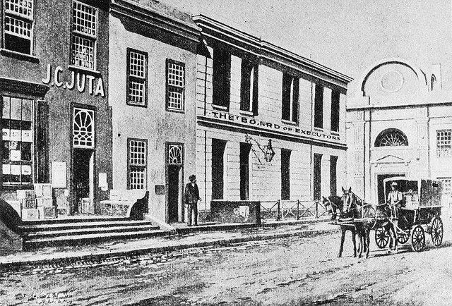 Juta's first Bookshop in Wale Street, 1853 | Flickr - Photo Sharing!